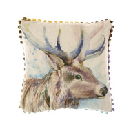 Voyage Maison Buck Stag Arthouse Mini Cushion (AH16002)
