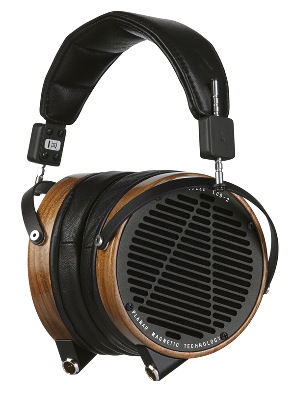 Audeze LCD2 rev2 in Canada, Shedua wood finish, planar magnetic headphones, full size, over ear