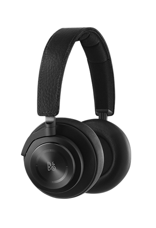 Beoplay H7 black finish, with mic and full soft touch earcup controls