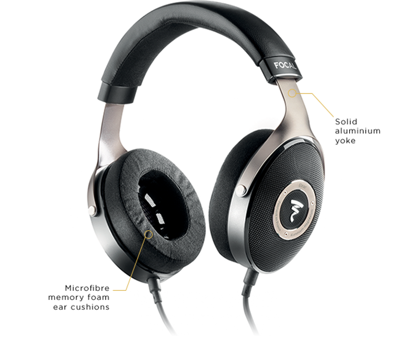 Focal Elear, Open Back Full size headphones