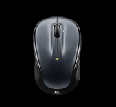 Logitech-Logitech M325 Wireless Mouse -grey, Unifying Receiver - 3yr Wty SKU 910-002325