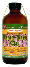 Raw Organic Hemp Seed Oil
