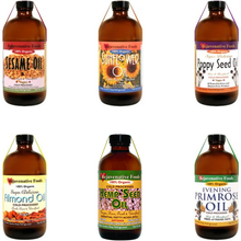 Raw Organic Oil Variety Pak