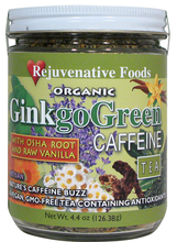 Organic Vanilla & Osha Ginkgo Green Tea