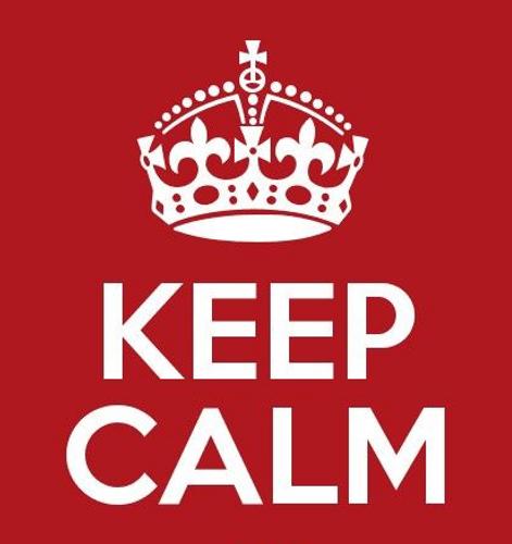 Keep Calm Poster Mugs