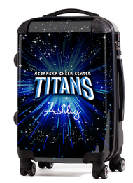 "Nebraska Titans Cheer Center 20"" Carry-on Luggage"