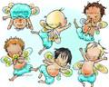 6 Baby Fairies (boys)