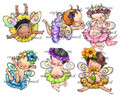 6 Baby Fairies (girls)