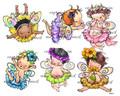 6 Baby Fairies (girls)