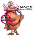 Mummu Dancing (PRE-COLORED)