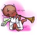 Cherub with Horn