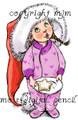 Santa's Hat Girl