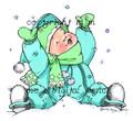 Kai in the snow