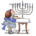 Sarah at Hanukkah