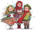 Carolers Three