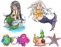Little Mermaids (set)