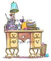 Blanche's Desk