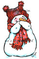 Giggling Snowman