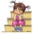 Sylvia on the Step