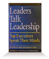 Leaders Talk Leadership - Hardcover