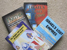 Lost Tribes of Israel four volume set