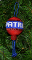 A hanging Patriot ball.