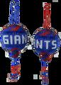 New York Giants Christmas Ornament