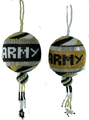 Army Black Knights Ball Ornament