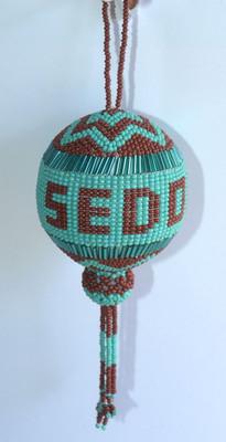 Sedona Beaded Ornament