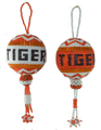Beautifully crafted Auburn Tigers Christmas Ornament.