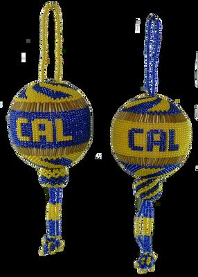 Cal Christmas Ornament