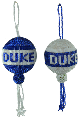 Duke Blue Devils Christmas ornament