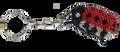 The Guatemalan lady bug key chain.
