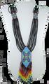 Black Necklace.  NA-N02