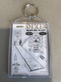 United's DIXIE BOWLING Alley  Key Chain Flyer