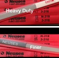 Neuses N-318 Heavy Duty & 3-316  Contact Burnisher *COMBO PACK*