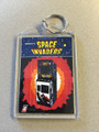Midway SPACE INVADERS Key Chain Flyer