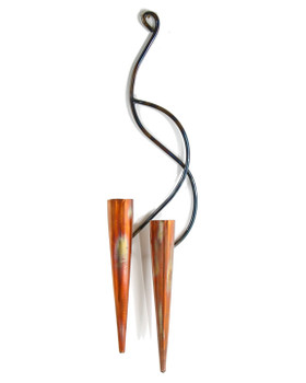 Double Copper Wall Sconce