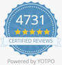 Over 4500 Reviews from Real Customers - Certified by Yotpo