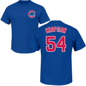 Aroldis Chapman T-Shirt - Blue Chicago Cubs Adult T-Shirt