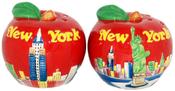 NYC Big Apple Salt & Pepper Shakers