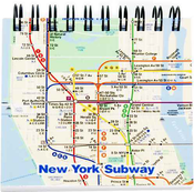 NYC Subway Map Pocket Notebook