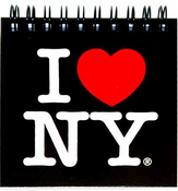 I Love NY Black Pocket Notebook
