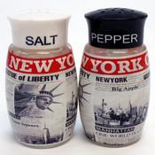 NYC Headlines Salt & Pepper Shaker Set
