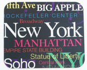 NYC Fonts Mouse Pad