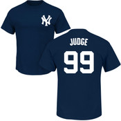 Aaron Judge T-Shirt - Navy NY Yankees Adult T-Shirt