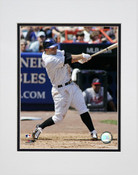 David Wright Following Through Matted 8x10