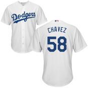 Jesse Chavez Jersey - LA Dodgers Replica Adult Home Jersey
