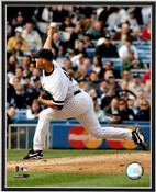 Mariano Rivera Delivering Profile 8x10 Framed