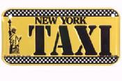 Taxi Cab Bike Plate